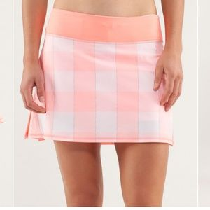 Lululemon Pace Setter Skirt